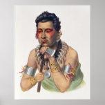 MA-Tener-Ka joven, jefe del Iowas Póster