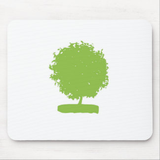 MaA004 Green Tree Mouse Pad