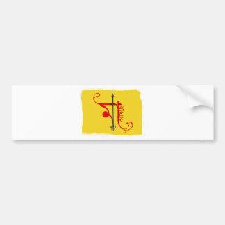 Maa asche bumper stickers