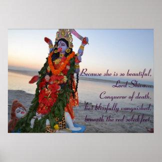 ¡Maa Kali - poster! Póster