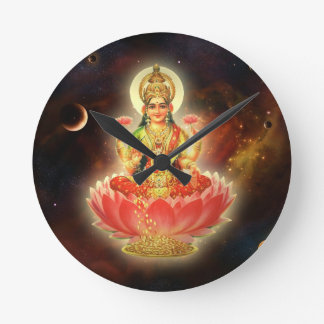 MAA MAHALAXMI DEVI INDIAN GODDESS OF WEALTH/ FORTU ROUND CLOCK