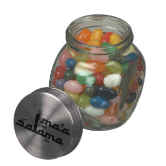 Ma'a Salama Jelly Belly Candy Jar