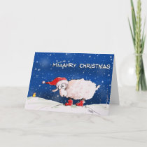 Määähry Christmas Holiday Card