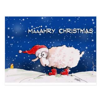 Määähry Christmas Postcard