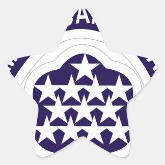 MAAG Camboida Pegatina En Forma De Estrella