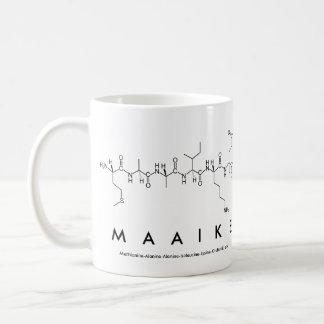 Maaike peptide name mug