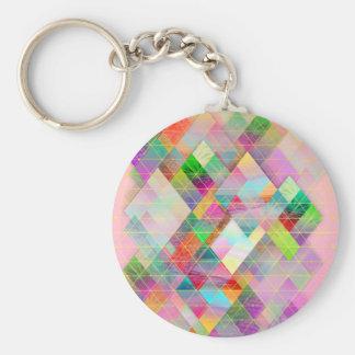 Maalibu Basic Round Button Keychain