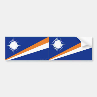 Maarshall Islands bumper sticker