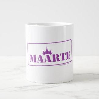 "Maarte ""stamped"" jumbo mug"