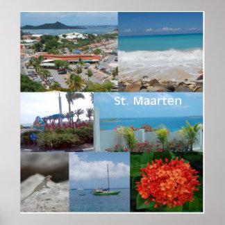 Maarten-St de Sint Impresión del poster de Martin