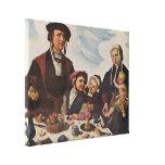 Maarten van Heemskerck - retrato de una familia Lienzo Envuelto Para Galerias