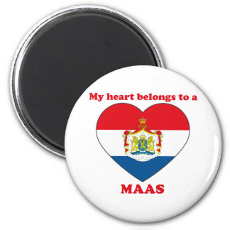 Maas 2 Inch Round Magnet