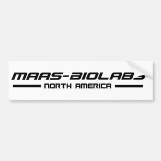 Maas-Biolabs Bumper Sticker