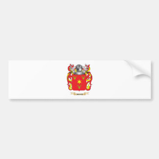 Maas Coat of Arms (Family Crest) Bumper Sticker