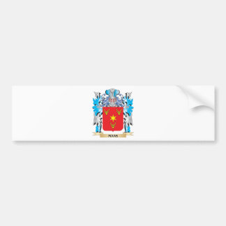Maas Coat of Arms - Family Crest Bumper Stickers