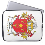 Maas Family Crest Computer Sleeves