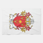 Maas Family Crest Kitchen Towel