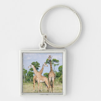 Maasai Giraffe Keychain