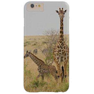 Maasai Giraffes roaming across the Maasai Mara Barely There iPhone 6 Plus Case