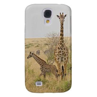Maasai Giraffes roaming across the Maasai Mara Galaxy S4 Case
