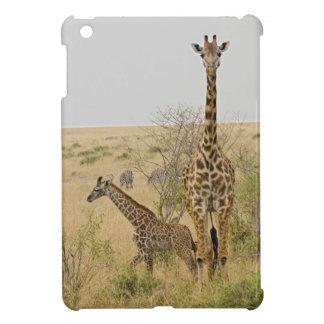 Maasai Giraffes roaming across the Maasai Mara iPad Mini Case