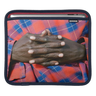 Maasai Man's Hands, Ngorongoro Conservation Sleeve For iPads