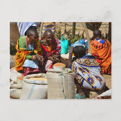 Maasai People Postcard