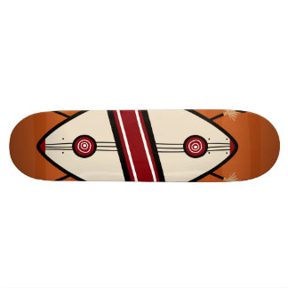 Maasai Shield Skateboard Deck