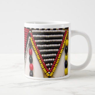 Maasai Tribal Beadwork Giant Coffee Mug