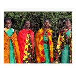 Maasai Women - 1 Post Cards