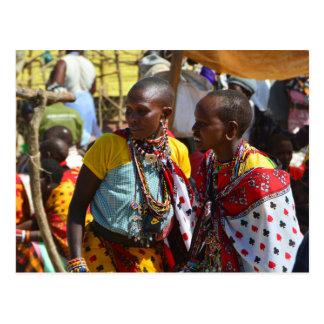 Maasai Women Postcard