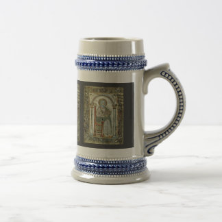 Maaseik Gospel Book Evangelist By Meister Der Schu Coffee Mugs