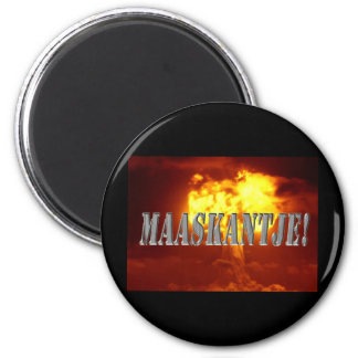 Maaskantje 2 Inch Round Magnet