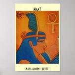 MAAT - DIOSA EGIPCIA POSTERS