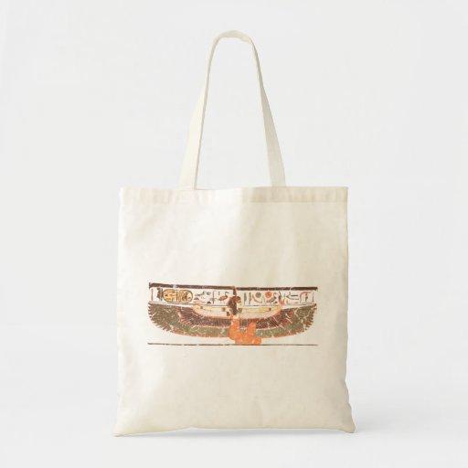 Maat- Nefertari tomb Budget Tote Bag