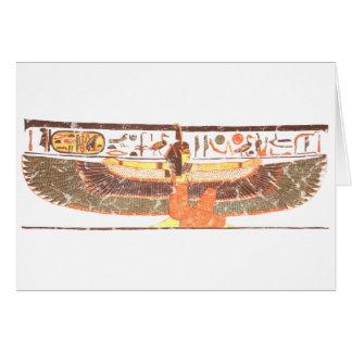 Maat- Nefertari tomb Greeting Card
