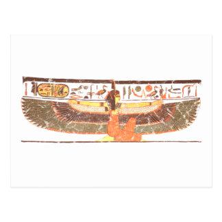Maat- Nefertari tomb Postcards