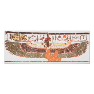 Maat- Nefertari tomb Poster