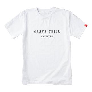 Maaya Thila Maldivas Playera Zazzle HEART