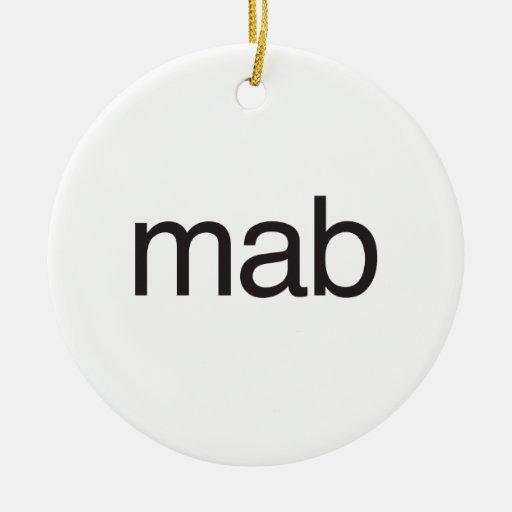 mab christmas ornaments