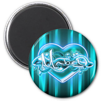 Mabel 2 Inch Round Magnet