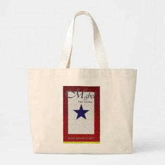 Mabel and Her Heroes Jumbo Tote Bag