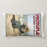 Mabel Normand 1915 movie magazine cover Throw Pillow
