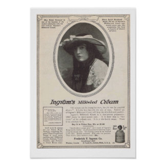 Mabel Normand 1917 Poster