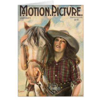 Mabel Normand 1922 portrait movie magazine Card