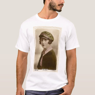 Mabel Normand vintage color portrait T-shirt
