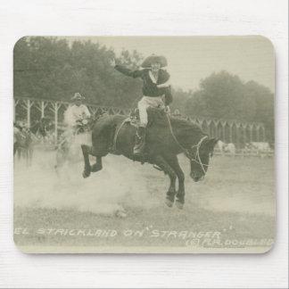 Mabel Strickland on Stranger. Mouse Pad