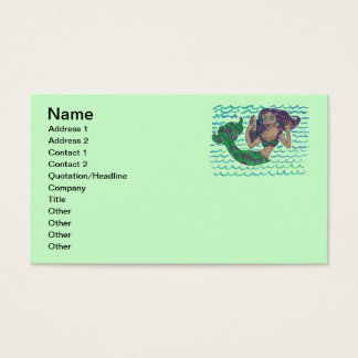 Mabel The Mermaid Business Card