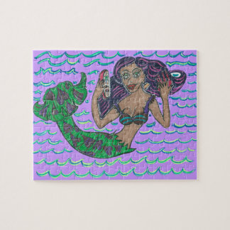 Mabel The Mermaid Jigsaw Puzzle