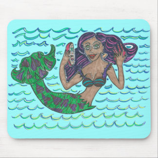 Mabel The Mermaid Mouse Pad